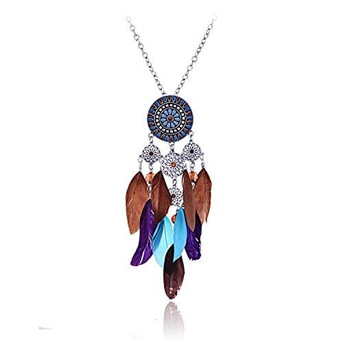 Colgante Native American Atrapasueños - Símbolo PROTECCIÓN - Joyería - Regalo