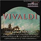 The Four Seasons Op. 8, Concerto in C for Two Trumpets, Concerto in b for Four Violins, Concerto in C for Mandolin