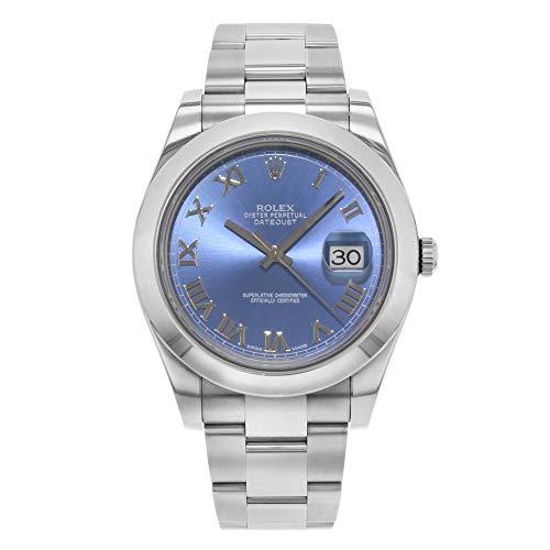 Rolex New Datejust II 116300 41mm Steel Blue 2017 Box/Paper/5YrWarranty #RL51