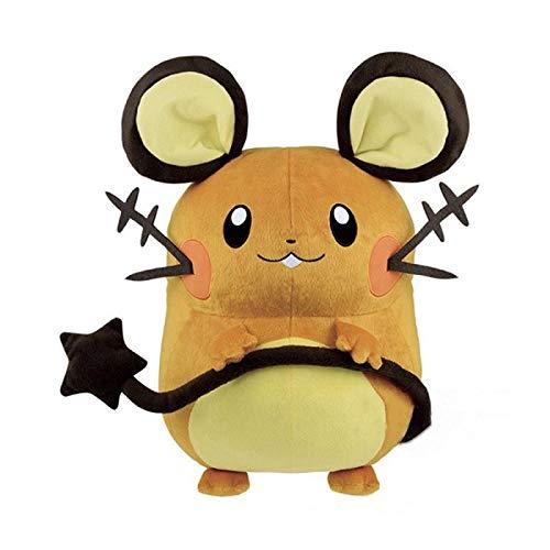 Cartoon Anime Pokemon Pikachu Serie Dedenne Gefüllte Plüschtierpuppen 30Cm, Swire Armor Toys Kinder