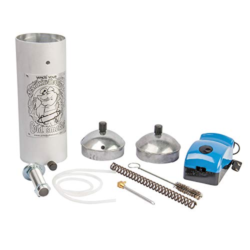 Smoke Daddy 8 Inch Cold Smoke Generator Uses Your Choice of Fuels for Gas/Charcoal/Electric/Pellet Grills