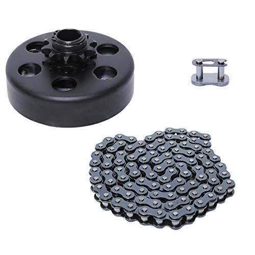 Gekufa Centrifugal Clutch 3/4' Bore 10 Tooth for Go Kart Minibike Lawnmower with #40/41/420 Chain