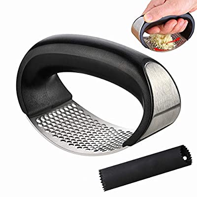 Garlic Press Rocker Stainless Steel + Silicon G...