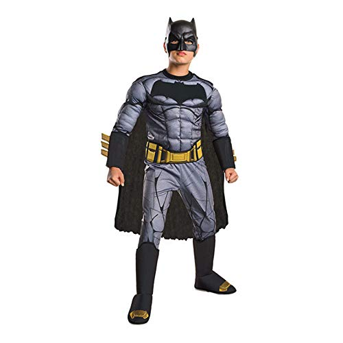 Petainer Disfraz de Bat Deluxe para Nios  Bat V Super  Dawn of Justice (S 110-120)