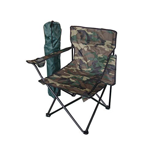 Faltstuhl Tarnmuster Campingstuhl Anglerstuhl Getränkehalter Anglersessel Camouflage Reisestuhl Klappstuhl Stuhl