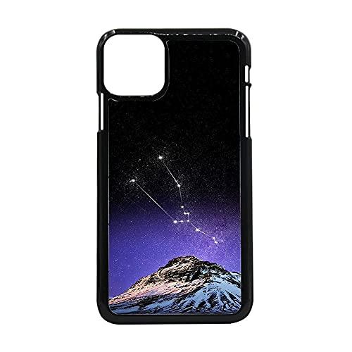 Compatible para iPhone 11 Ligero Cajas De Teléfono Duro Abs Hombre Impresión Big Dipper