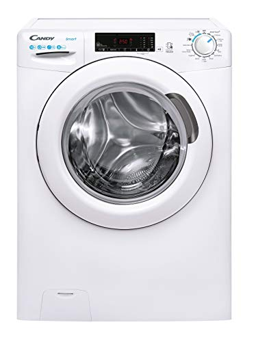 Candy Smart Pro CS1410TE Free Standing Washing Machine, 10 kg Load, 1400 rpm, White