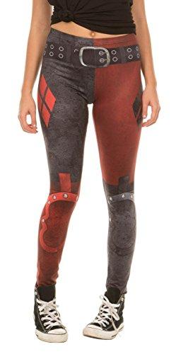 Underboss Dc Comics Harley Quinn Arkham City Leggings (Adult Small)