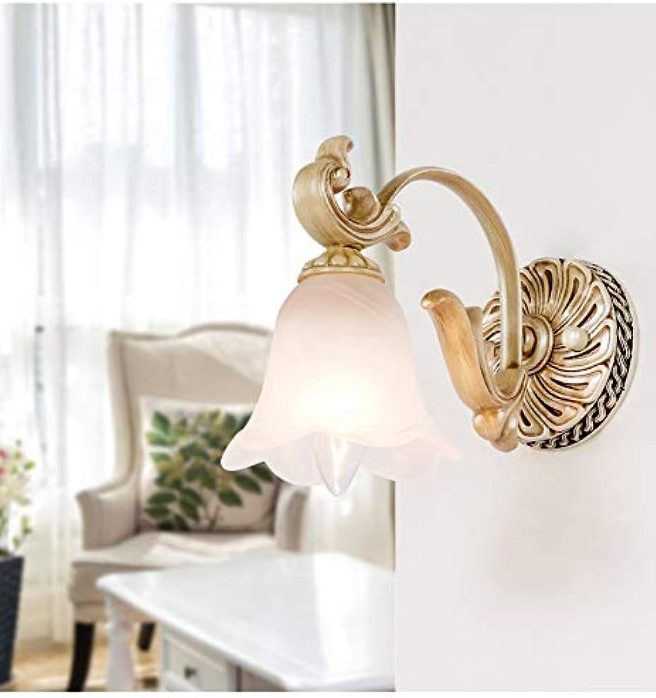 Europisches Spiegelscheinwerferbad Führte Spiegelleuchte Badezimmerwandleuchte Badezimmer-Toilettenbeckenlampe (Farbe   B, Größe   1)