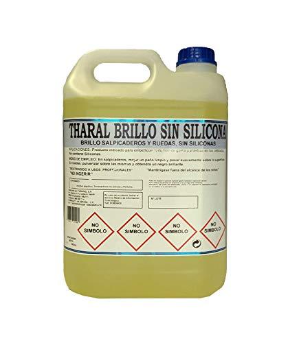 THARAL Brillo Salpicaderos y Neumáticos SIN SILICONAS (5Litros)