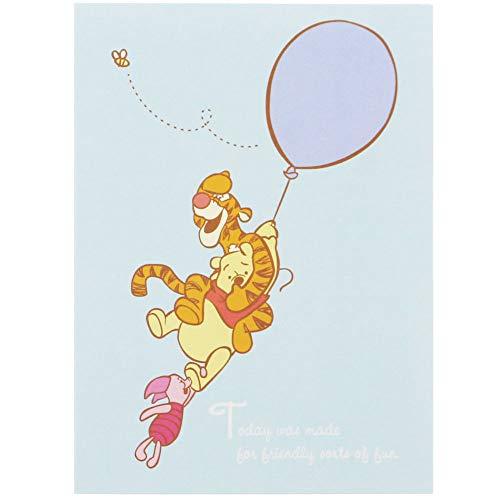 サンスター文具 ディズニー ブック型付箋 くまのプーさん 風船 S2823535
