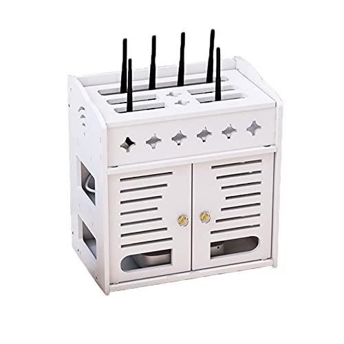 Caja de Almacenamiento enrutador WiFi, Caja de Almacenamiento de la Caja de TV, Cable de alimentación, Caja de Almacenamiento del Panel de Parches, Caja de hub, Caja de Almacenamiento de Pared