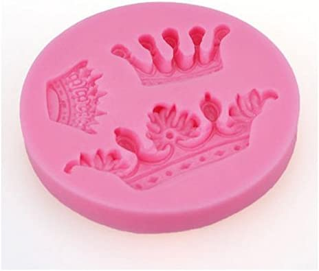 discount Z-bond new arrival Mini Queen Crown Mold Silicone Chocolate Fondant 2021 Candy Mold outlet online sale