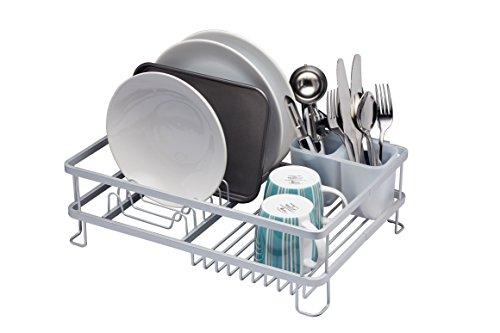 Kitchen Craft Escurridor para plato de aluminio antioxidante, 42 x 30 x 13 pulgadas