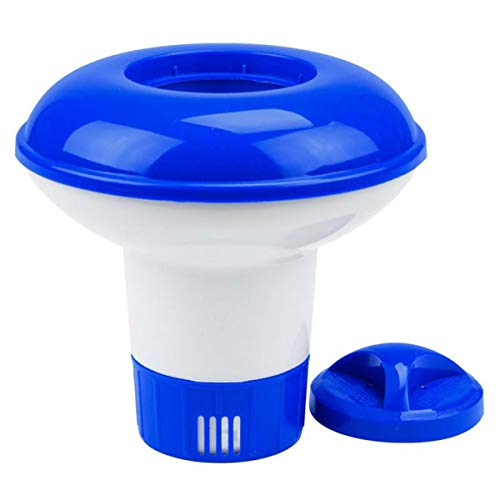 Floating Mini Chlorine/Bromo Tablet Dispenser Pool Floating Water Pill Floating Cup for Swimming Pools, Spas, Hot Tubs and Fountains, 5 Inches