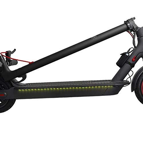 Tira de luz LED para monopatín,Tendlife barra de luces decorativa para scooter plegable, barra de luz LED para linterna, luz decorativa de seguridad para conducción nocturna de scooter eléctrico