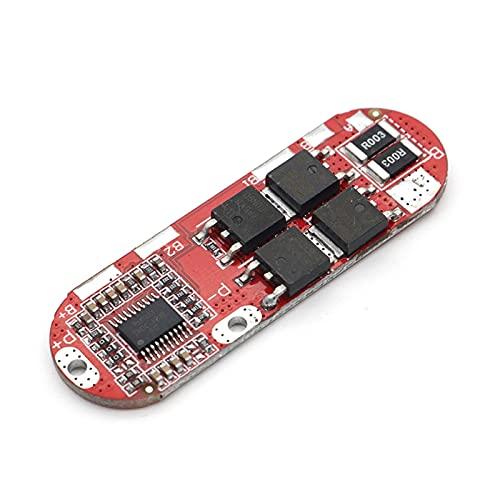 ZRYYD 5s 2 5A BMS 18650 Módulo de Placa de Circuito de protección de batería LIPO LIPO LIPO LIPO PCB PCM LIPO Cargador 1S 2S 10A 3S 4S (Color : 3S)