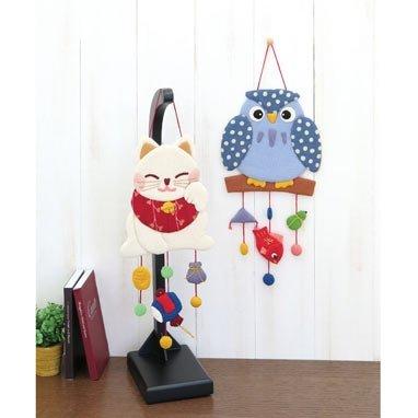 オリムパス製絲『笑福見守りつるし飾り招福ネコ(PA682)』