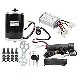 DealMux E-Bike Controller Set, 48 V 1000 W Motor Cepillo Control Pulgar Acelerador Grip Accesorios para bicicletas eléctricas