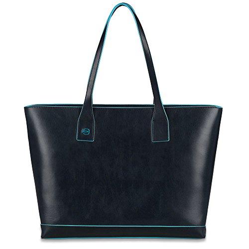 Piquadro Shopping Blue Square, 36 cm, Blu