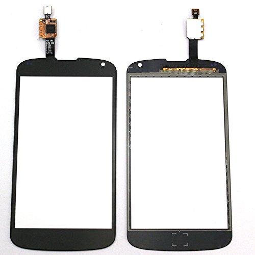 LG Optimus nexus 4 E960 Display Touchscreen Digitizer Glas(Ohne LCD) Ersatzteile + Klebeband & Werkzeuge (schwarz)