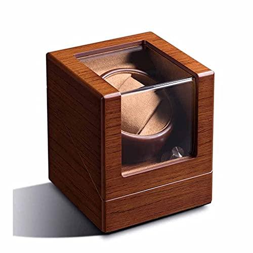BNFD 1+0 sola madera mecánica automática reloj devanadera caja devanadera rotor caso gabinete