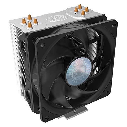 Cooler Master Hyper 212 EVO V2 Sistema di Raffreddamento CPU, Design Ottimizzato, Dissipatore Calore Offset, 4 Tubi di Calore Direct Contact, Ventola SickleFlow V2 120 mm, Presa Universale Aggiornata