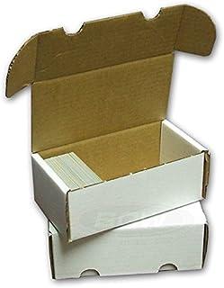 3 BCW 400 Card Storage Box Gaming - Trading - Sports Cards -YU-GI-OH! - Dragon Z - Magic The Gathering - MTG - Pokemon - B...