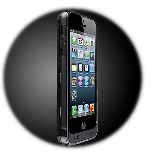 Girafus Powerbank für iPhone 5 / 5S / SE, externes Cover mit Akku, 2400mAh / Die Akkuhülle Ohne Klobig /