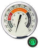 SHINESTAR 3 1/8 Inch Grill Temperature Gauge,...