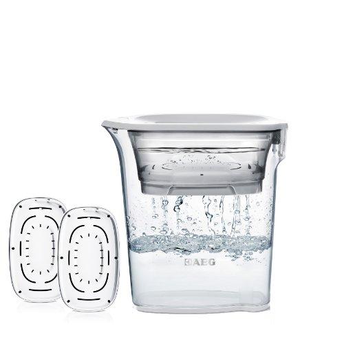 AEG AWFSPKIT Wasserfilter AquaSense Starterpack inklusive 3 Filterkartuschen