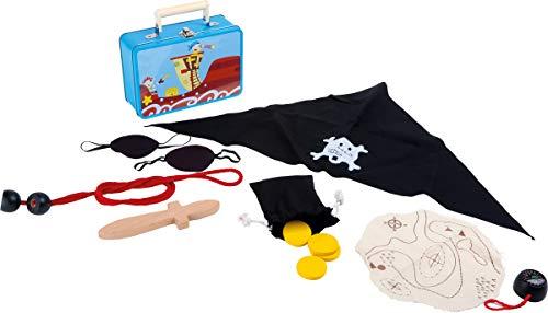 Small Foot Company (smb5v) - 3919 - Kit De Loisirs Créatifs - Valise d'enfant - Set De Pirate