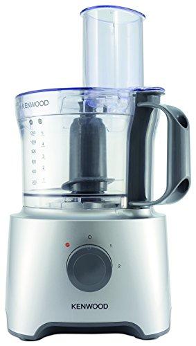 Kenwood fdp302si Multipro Compact Processeur de cuisine, 800 W, 2.1 liters, argent