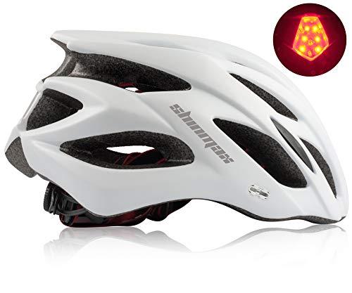 Shinmax Fahrradhelm mit abnehmbarem Visier, Fahrradhelm Leichte Fahrradhelme für Männer und Frauen zum Schutz der Straßenverkehrssicherheit.