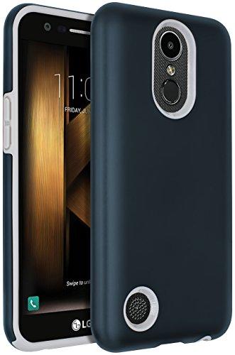 SENON LG Harmony Case,LG K20 V Case,LG K20 Plus Case,LG V5 Case,LG K10 2017 Case, Hybrid Dual Layer Shock-Absorption Protective Cover Shell Navy Blue