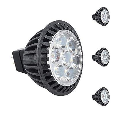 Bonlux 5-Pack Mr16 LED Light 120V