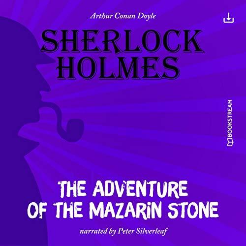 The Adventure of the Mazarin Stone cover art