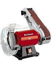 Einhell Standbandschuurmachine TH-US 240 (240 W, incl. grove schuurschijf en schuurband, schijfdiameter 150 mm, schuurband 50 x 686 mm) Virtual Bundle