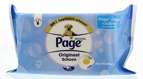 Page Vochtig Original Schoon Navulverpakking, 42 Stuk