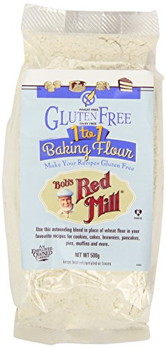Bobs Red Mill One for One Gluten Free Baking Flour 500 g (Pack of 2)