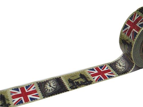 Die Ameise Masking Tape London Klebeband Papier Washi 1.5cm x 10m