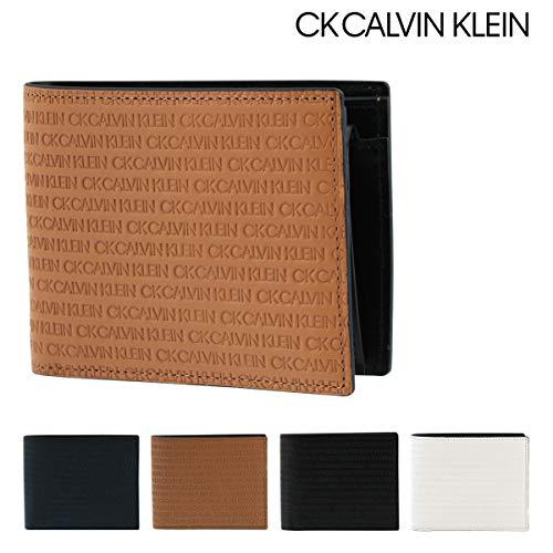 CKCALVINKLEIN『二つ折り財布BOX型小銭入れリピート(802612)』