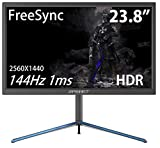 JAPANNEXT JN-24VG144WQHDR 144Hz 1ms HDR compatible WQHD resolution gaming monitor