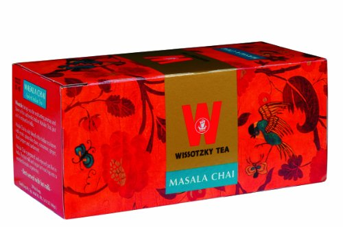 Wissotzky Tea Masala Chai, Box Of 20 Bags (Pack of 6)