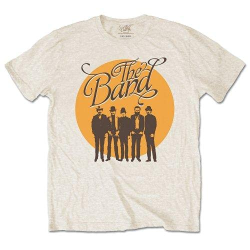 The Band Cirlce Loge T-Shirt, Beige-Beige, Large Homme