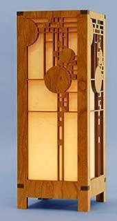 Frank Lloyd Wright Coonley Playhouse Lightbox Mini Accent Lamp