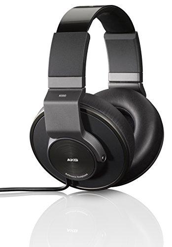 AKG - K550 - Casque Audio - Fermé - Pliable sans Fil – Haute Performance - Noir