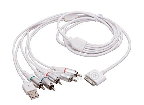 Adaptador de audio de alta definición de vídeo TV AV cable RCA...