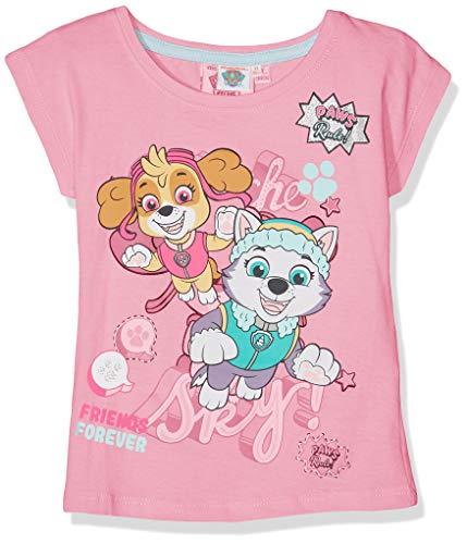 Pat patrouille Mädchen T-Shirt 6194 Rose Fushia, 6 Jahre