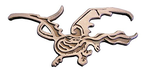 El Hobbit Broche–Smaug la cadena de dragón anänger